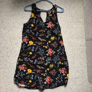 Old Navy Swing Dress Floral